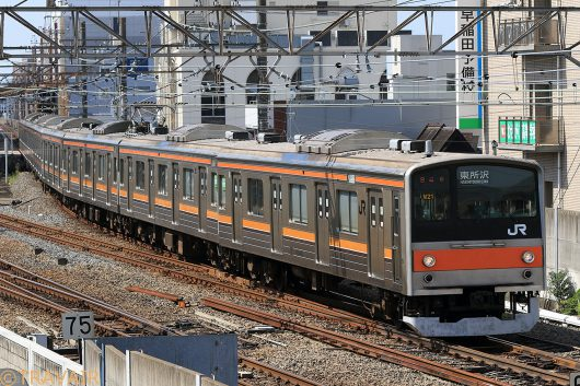 205系 東所沢行