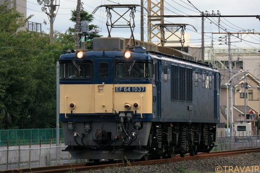 EF64-1037 単1094 新小岩(信)~金町間