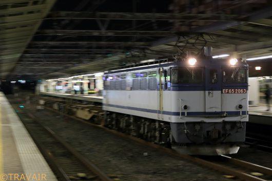 EF65-2063 2019.10.20 18:30撮影 1092レ 市川駅