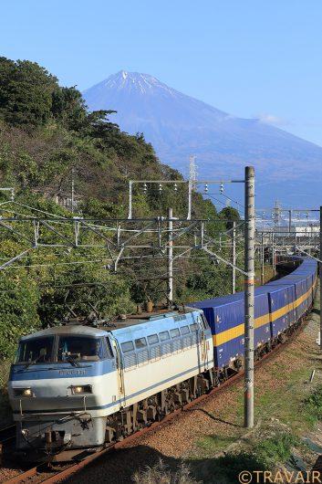 EF66-110 3075レ 富士川~新蒲原間