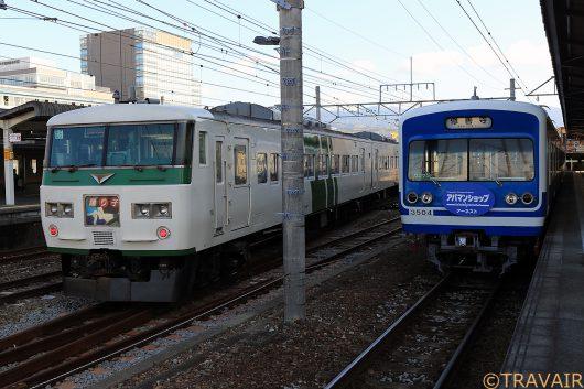 踊り子102号 三島駅(後追い)