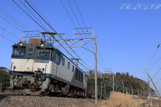 2020.1.13 14:15撮影 1094レ 物井~四街道間