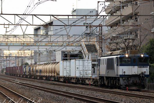 2020.1.25 15:39撮影 1094レ 松戸~北松戸間