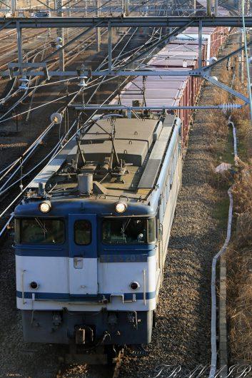 EF65-2095  77レ 新鶴見(信)~梶ヶ谷タ間