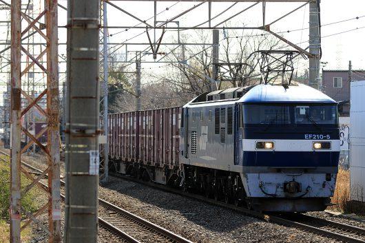 EF210-5 1153レ 川崎新町駅