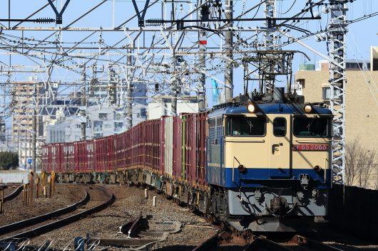 EF65-2068 11:18撮影 1093レ 市川駅