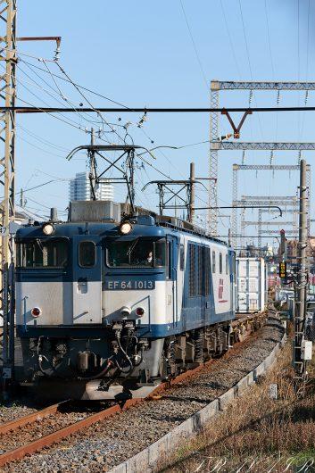 EF64-1013 1094レ 新小岩(信)~金町間
