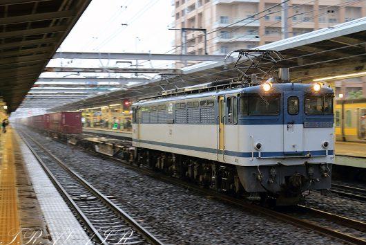 EF65-209318:30撮影 1092レ 市川駅