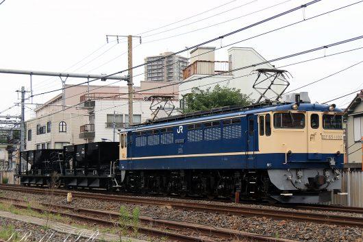 EF65-1102 配8936レ 王子~尾久間