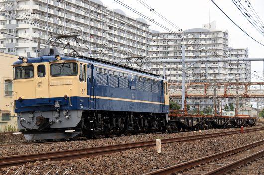 EF65-1102 工9862レ 馬橋~北松戸間