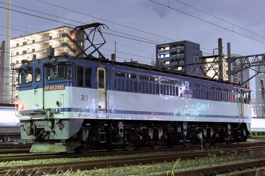 EF65-2086 入換