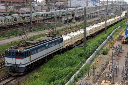 EF65-2076 8151レ 尻手~新鶴見間