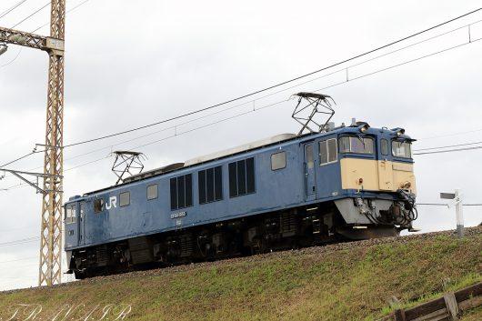 EF64-1053 単?レ 金町~新小岩(信)間