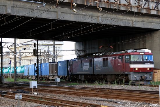 EH500-1 2020.8.1 17:17撮影 5971レ 川崎貨物~浜川崎間