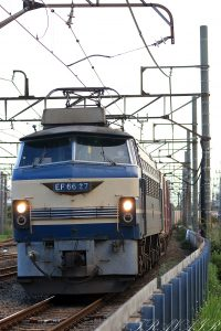 EF66-27 2020.8.1 17:22撮影 74レ 浜川崎~川崎貨物間