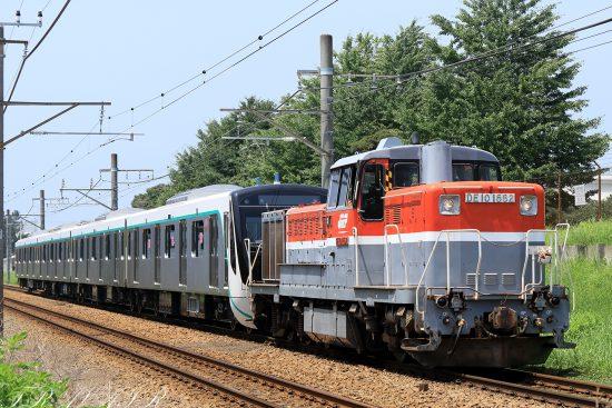DE10-1662 東急2020系甲種