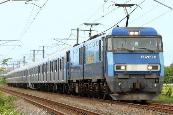 EH200-8 東急2020系甲種