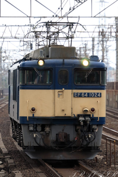 EF64-1024 単1094レ 稲毛駅
