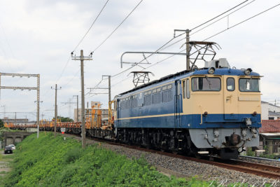 EF65-1115 工9824レ 金町~新小岩(信)間