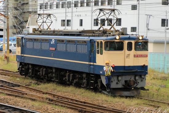 EF65-2097 入換