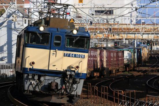 EF64-1026 1094レ 船橋~西船橋間