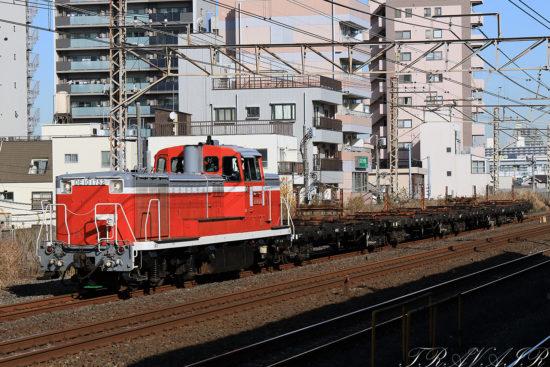 2020.12.18 12:14撮影 配9247レ 平井駅
