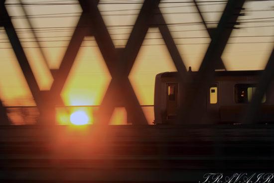 20201.1.1 6:59撮影 643B 新小岩~平井間(後追い)