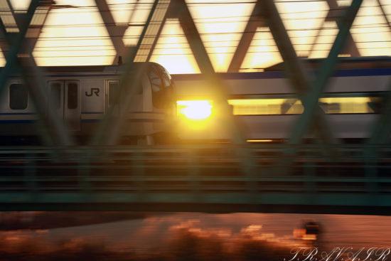 2021.2.1 7:03撮影 531F 新小岩~平井間(後追い)