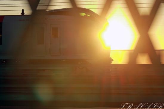 2021.2.1 7:08撮影 2003M 新小岩~平井間(後追い)