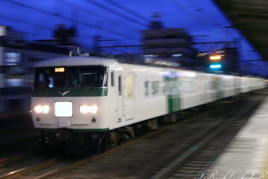 185系「成田山初詣伊東号」