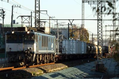 EF64-1046 東京街道踏切