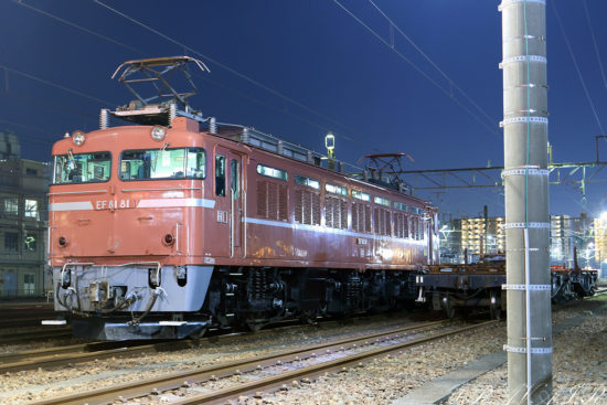 EF81-81 品川工臨