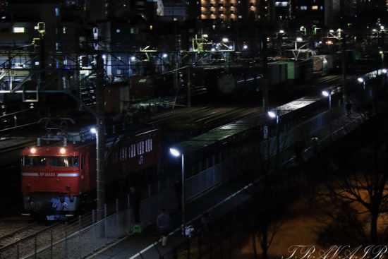 EF81-133発車流し