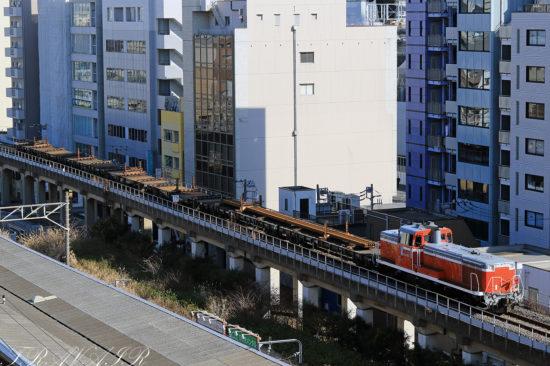 DE10-1603 越中島支線