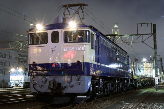 EF65-1105 新宿工臨