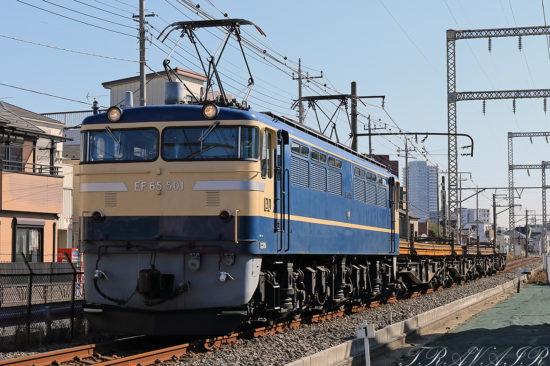 EF65-501高崎工臨