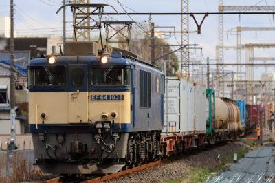 EF64-1038 東京街道