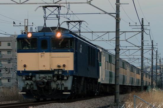 EF64-1031 185系廃回