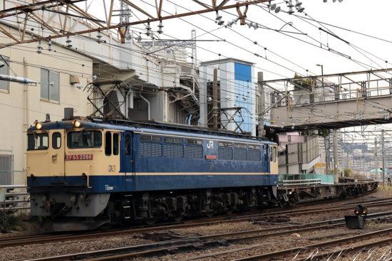 EF65-2088  配8592レ 隅田川駅