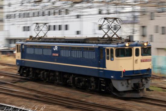 EF65-2088 入換