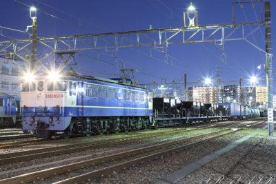 EF65-2091 ホキ付き5971レ