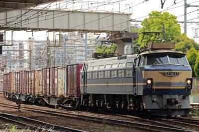 EF66-27 74レ 隅田川駅