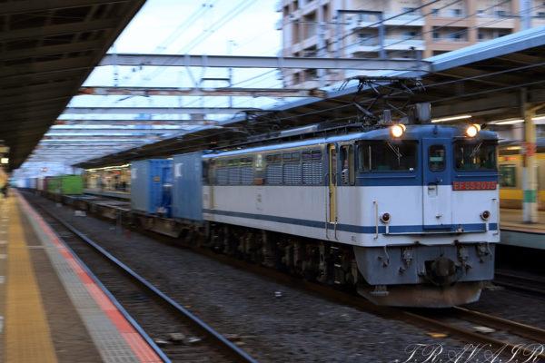 2021.5.10 18:27撮影 1090レ 市川駅