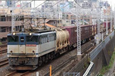 EF65-2060 1093レ 船橋~東船橋間