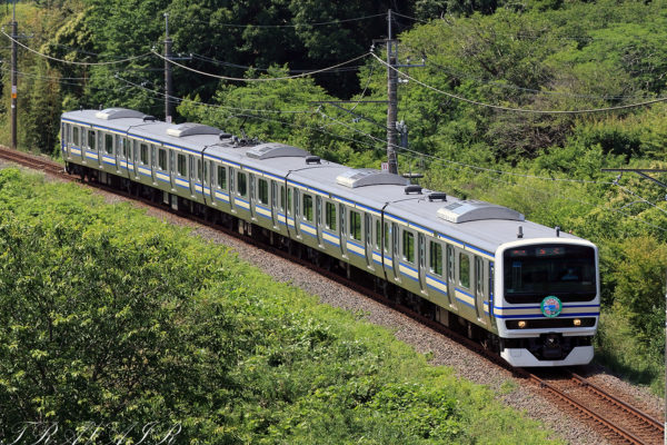 E231系成田線開業120周年記念