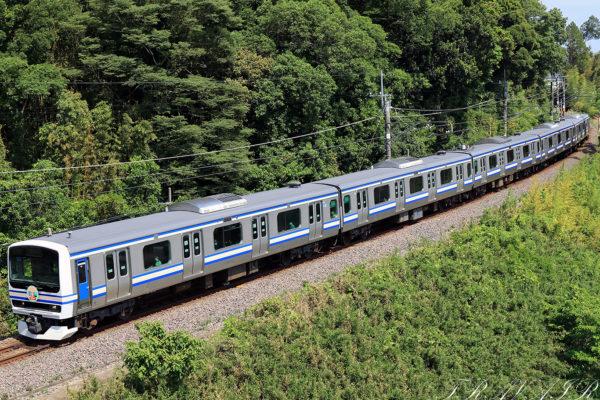 E231系横須賀色 広角
