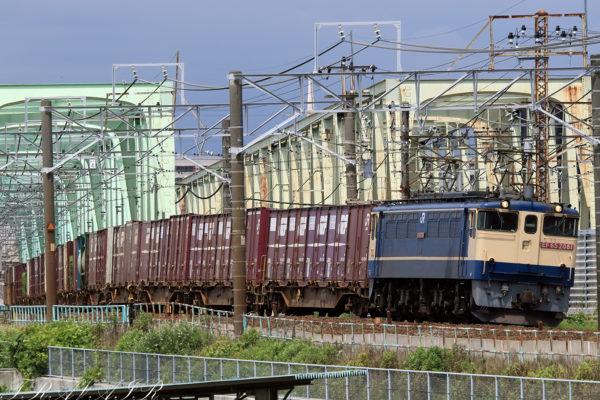 EF65-2081 10:04撮影 72レ 金町~松戸間 望遠