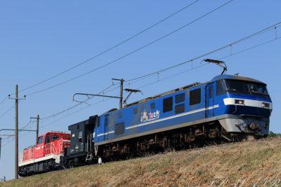 EF210-111 9161レ 金町~新小岩(信)間