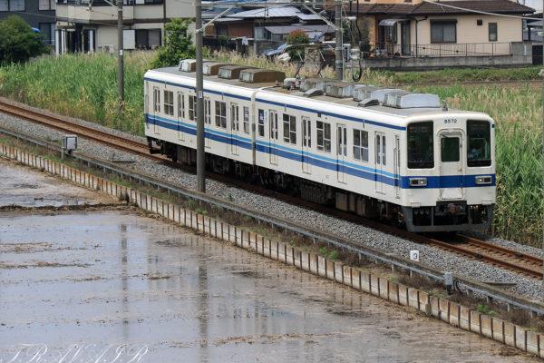 8000系 728Eレ 東小泉~篠塚間