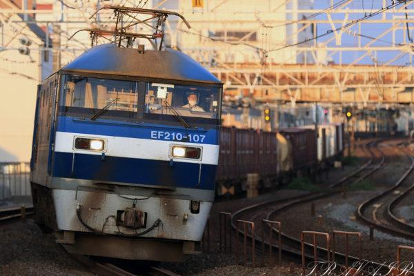 2021.7.10 18:24撮影 1092レ 船橋~西船橋間